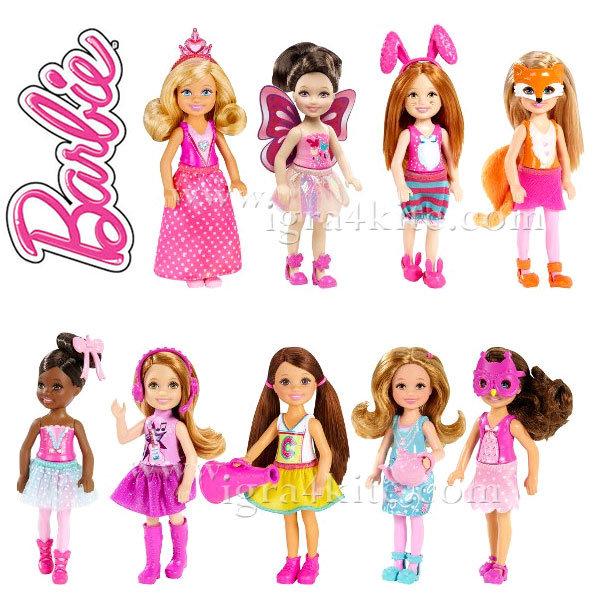 Barbie - Кукла Барби Челси и приятели CGF39