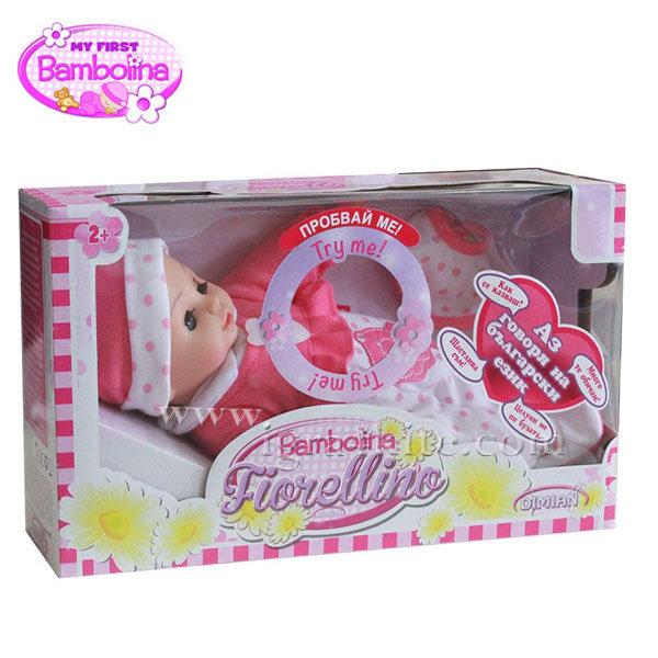 Bambolina - Интерактивна говореща кукла Fiorellina