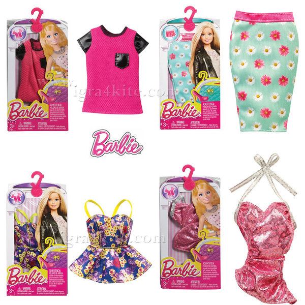 Barbie Fashionistas - Барби Модни дрехи CFX73
