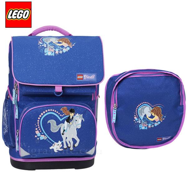 Lego Small - Ергономична ученическа раница Лего Friends Horse