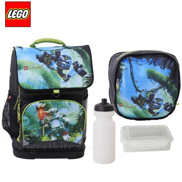 Lego Small - Ергономична ученическа раница Лего Chima Gorilla 14032