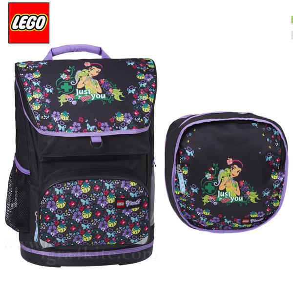 Lego Large - Ергономична ученическа раница Лего Friends Jungle 15235