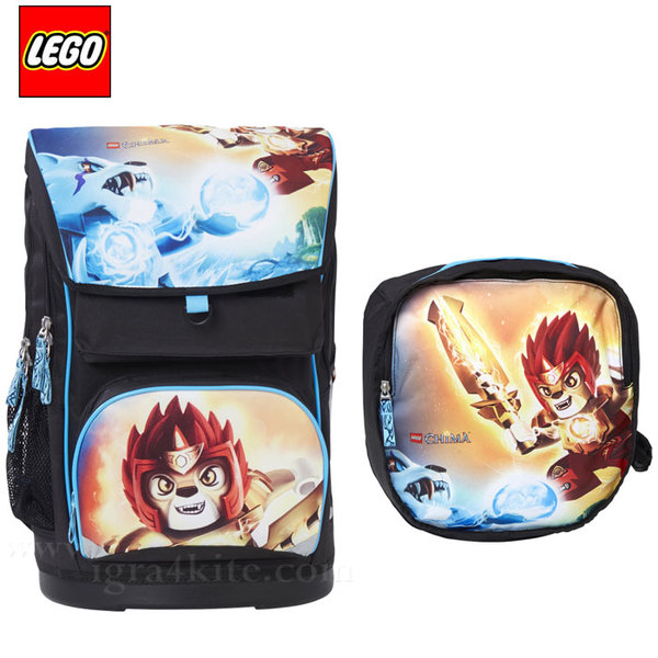 Lego Large - Ергономична ученическа раница Лего Chima Fire&Ice 15231