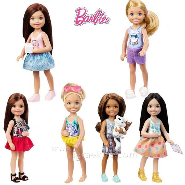 Barbie - Кукла Челси малката сестра Барби DGX40