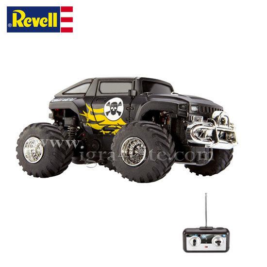 Revell - Мини камион ЪП191 Черен с радиоконтрол