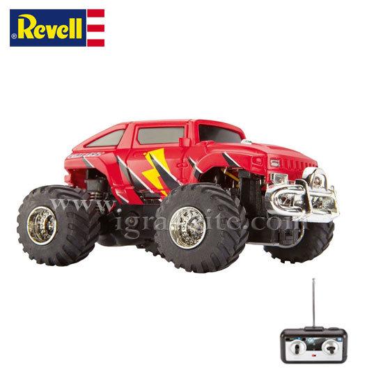 Revell - Мини камион ЪП192 Червен радиоконтрол управление