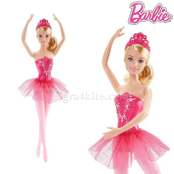 Barbie - Барби кукла Балерина розова DHM41