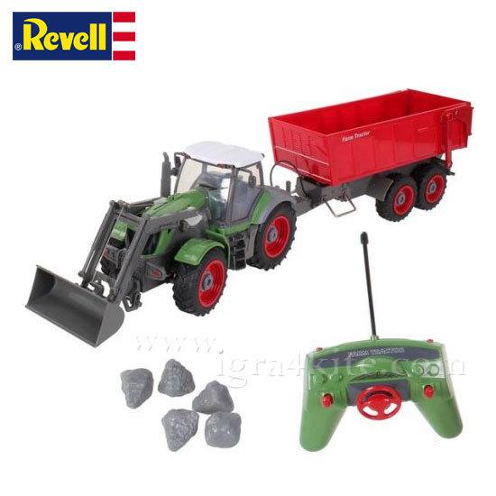 Revell - Трактор с ремарке с радиоконтрол