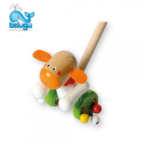 Beluga - Дървена играчка за бутане Овца 801141