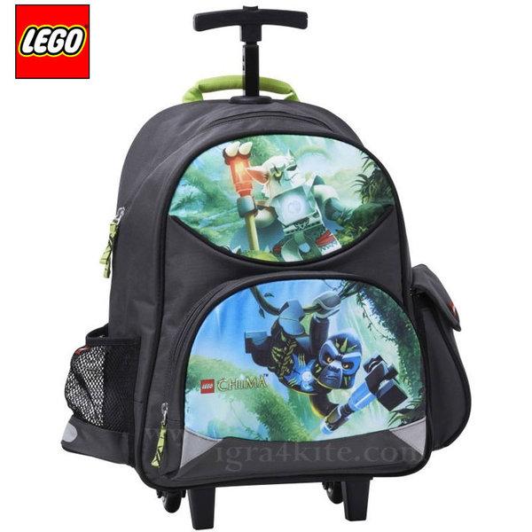 Lego Trolley - Ученическа раница на колелца Лего Chima Gorilla