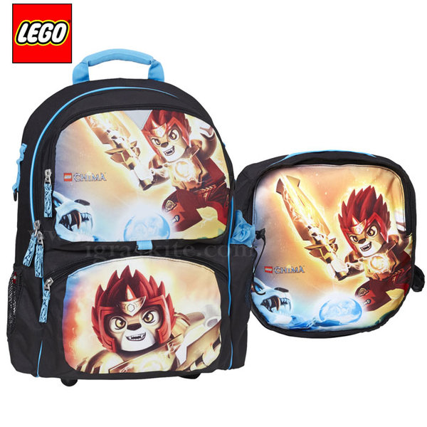 Lego Freshmen - Ергономична ученическа раница Лего Chima Fire & Ice 15281