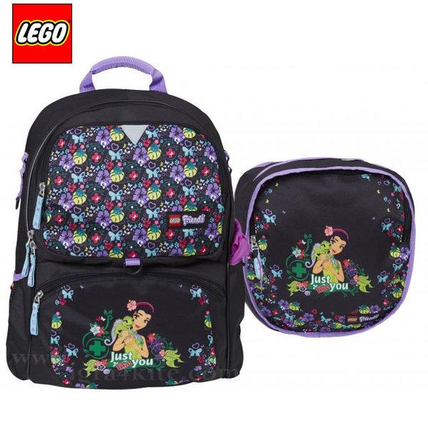 Lego Freshmen - Ергономична ученическа раница Лего Friends Jungle 15285