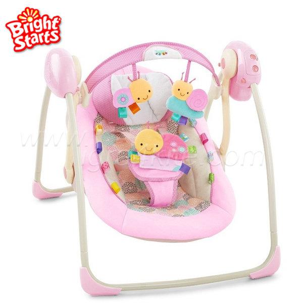 Bright Starts - Музикална люлка шезлонг Portable Swing™ 60257