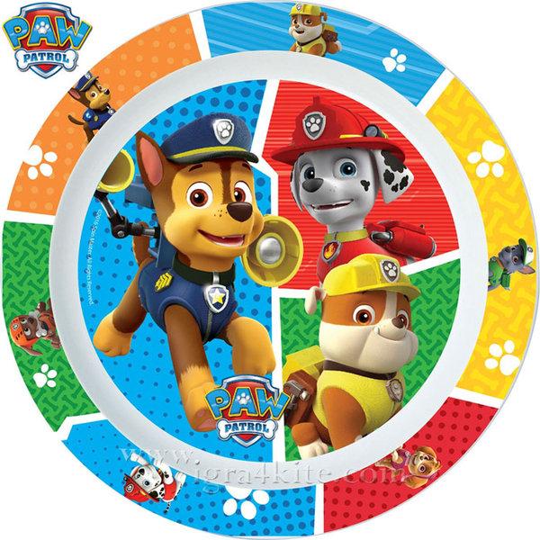 Paw Patrol - Детска чиния Пес патрул 23546