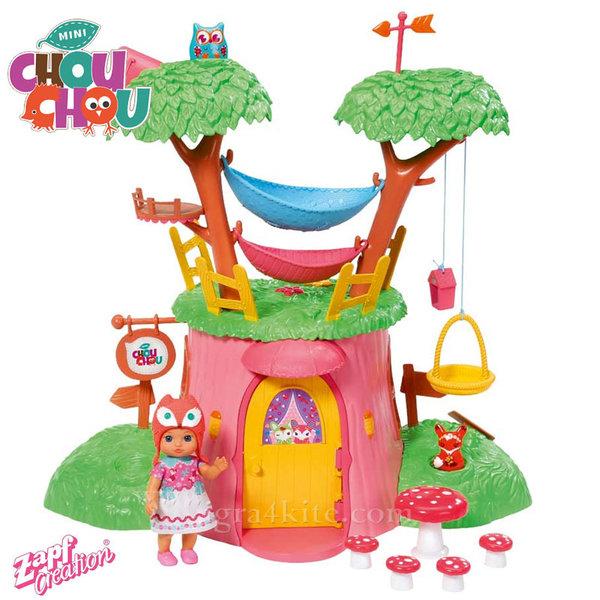 Chou Chou - Шу-Шу Игрален комплект Къща на дърво 920282