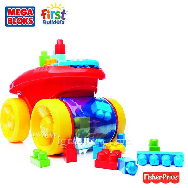 Fisher Price Mega Bloks - Количка с блокчета CNG23