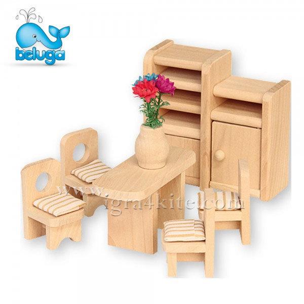Beluga - Мебели за къща за кукли Трапезария 70124