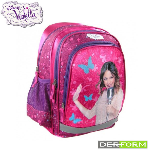 Disney Violetta - Ученическа ергономична раница Виолета 30729
