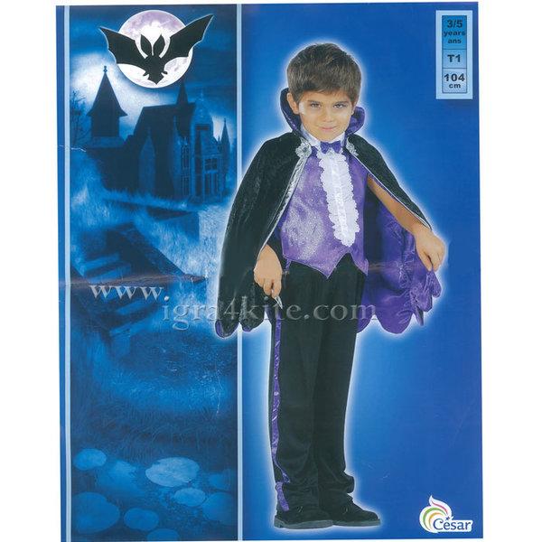 Детски карнавален костюм Граф Дракула 1910451