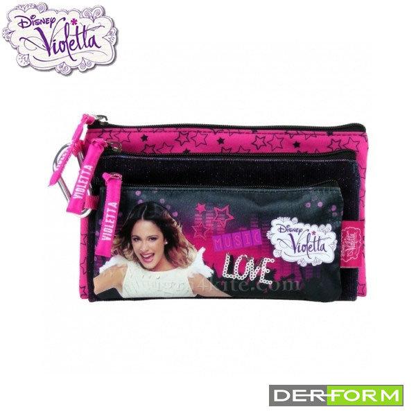Disney Violetta - Ученически несесер 3в1 Виолета 33584