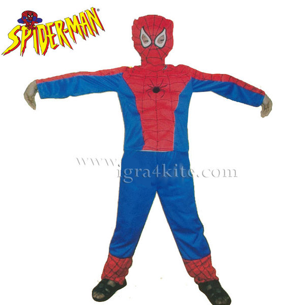 Детски карнавален костюм Spiderman 19101457