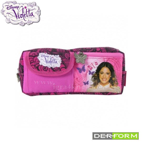 Disney Violetta - Ученически несесер с портмоне Виолета 30347