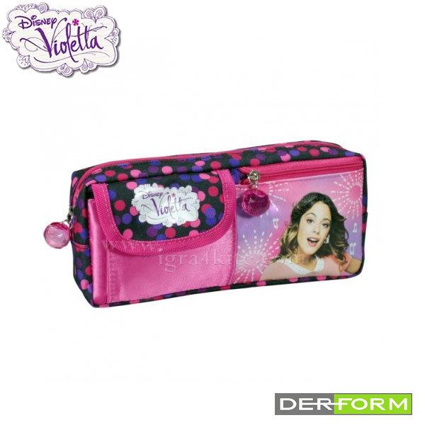 Disney Violetta - Ученически несесер с портмоне Виолета 30361