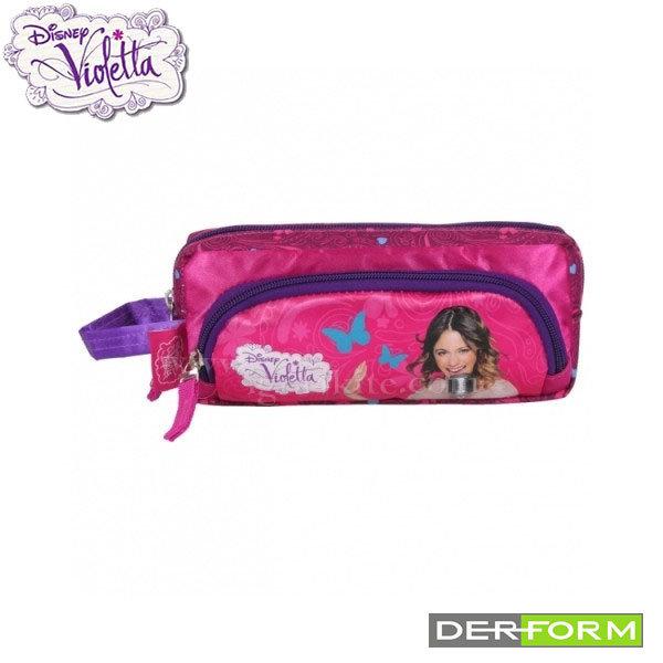 Disney Violetta - Ученически несесер с 2 ципа Виолета 30194