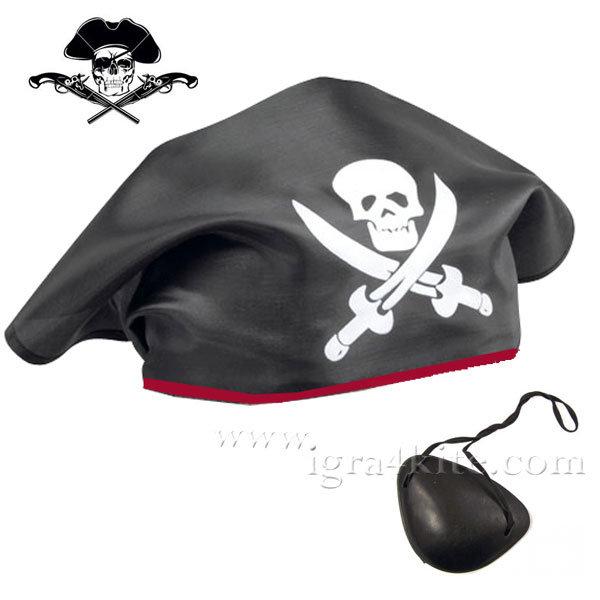 Пиратска кърпа за глава 20101319