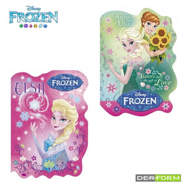 Disney Frozen - Тефтерче А6 с цветни листа Замръзналото кралство NKA6KL