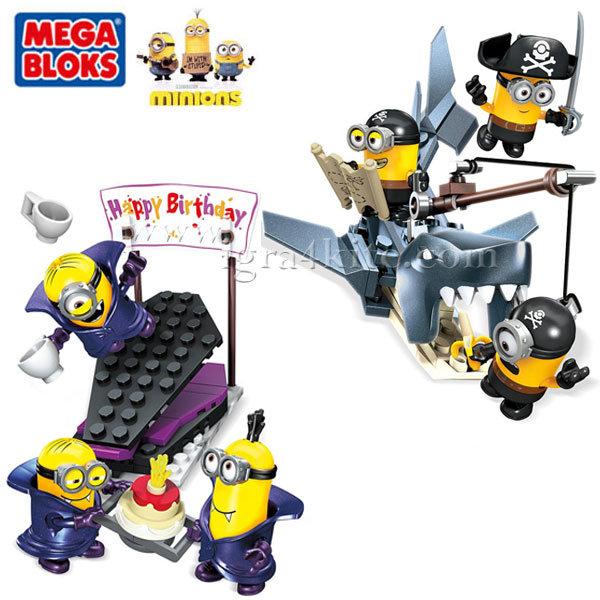Mega Bloks Minions - Забавен комплект Миньоните CNF53