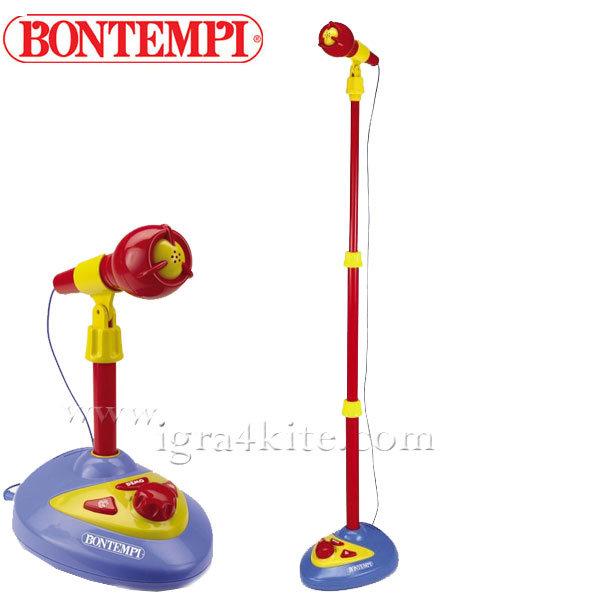 Bontempi - Детски микрофон на стойка 191111
