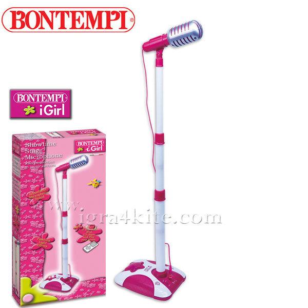 Bontempi - Детски микрофон на стойка 401071