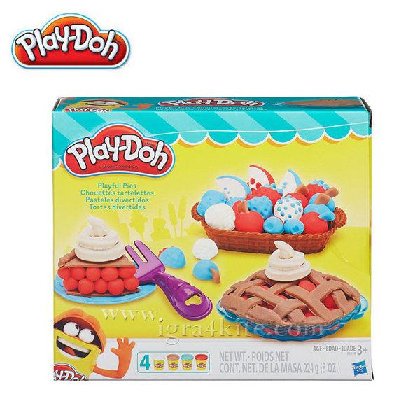 PlayDoh - Направи пай от пластелин b3398
