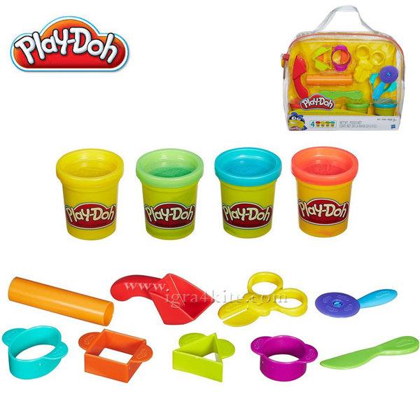 PlayDoh - Детски стартов комплект в чантичка b1169
