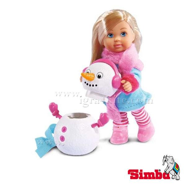 Simba - Кукла Еви със снежен човек 105732805