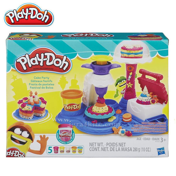 PlayDoh - Детски комплект Торта b3399
