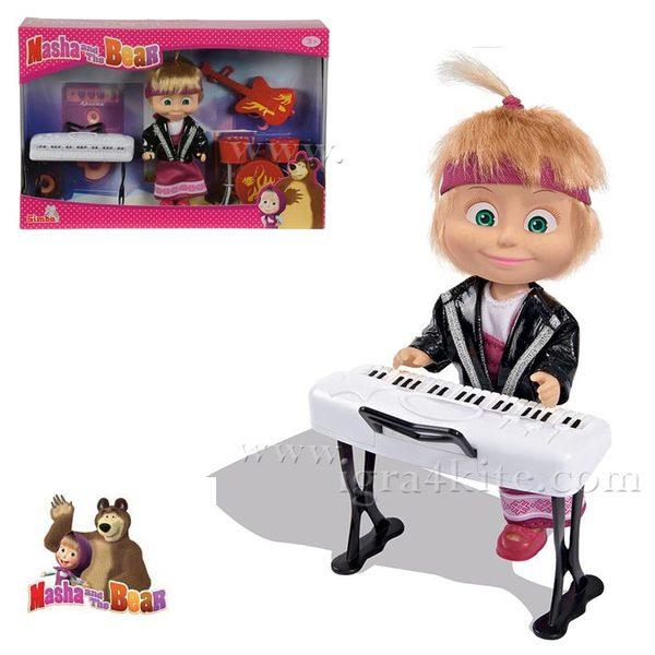 Simba Маша и Мечока - Кукла Маша музикант 109301682