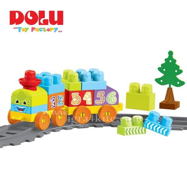 Dolu - Детски конструктор Влакче 36 части 5080