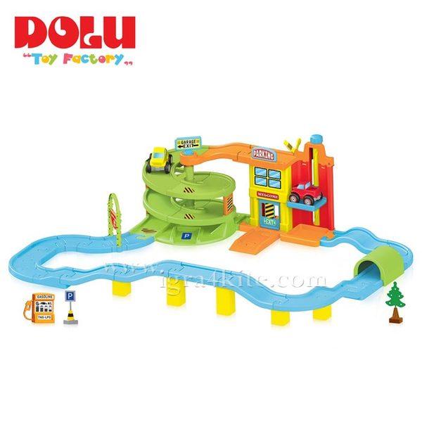 Dolu - Детски Гараж 70 части 5154