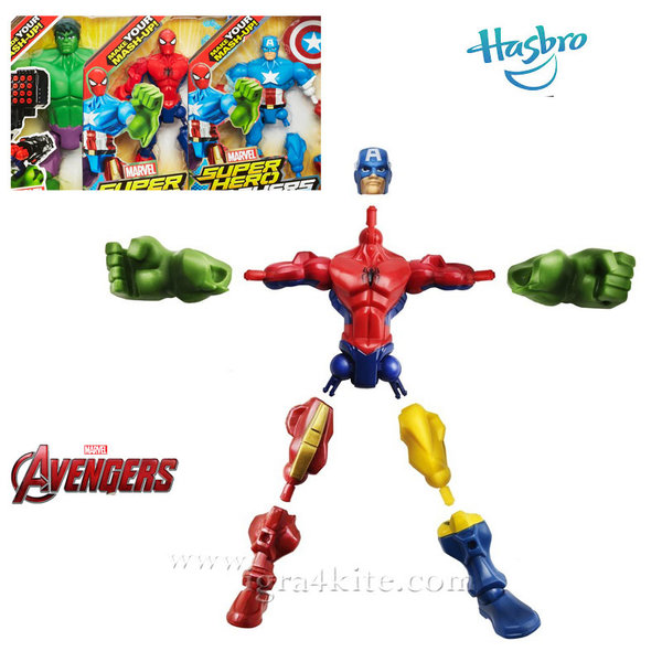 Marvel Avengers - Super Hero Mashers Променяща се фигура A6825