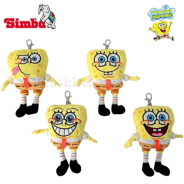 Simba Sponge Bob - Плюшен ключодържател Спондж Боб 109492828