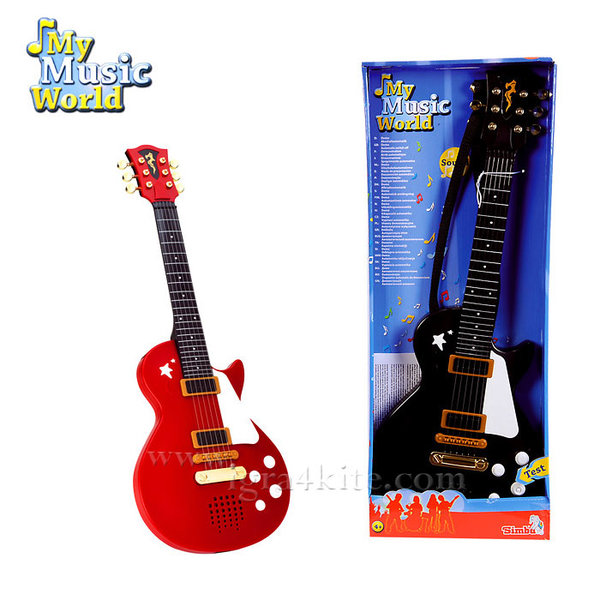 Simba My Music World - Електрическа китара 106837110