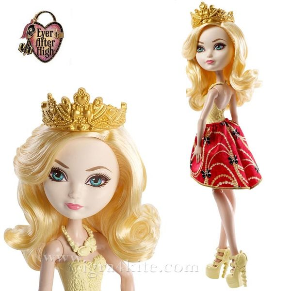 Ever After High - Кукла Apple White DLB34
