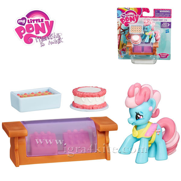 My Little Pony - Комплект за игра Friendship is Magic Mrs. Dazzle Cake B3596