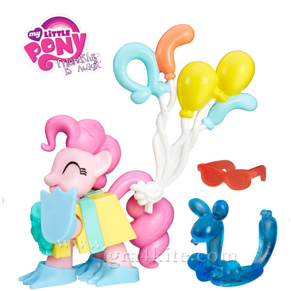My Little Pony - Комплект за игра Friendship is Magic Pinkie Pie B3596