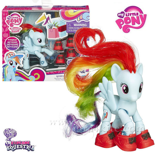 My Little Pony Equestria Girls - Моето малко пони Rainbow Dash B3598