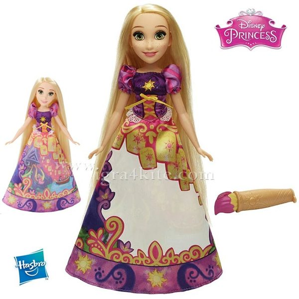 Disney Princess Magical Story - Кукла Рапунцел с магическа рокля B5295