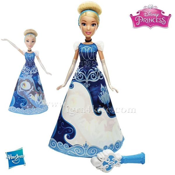 Disney Princess Magical Story - Кукла Пепеляшка с магическа рокля B5295