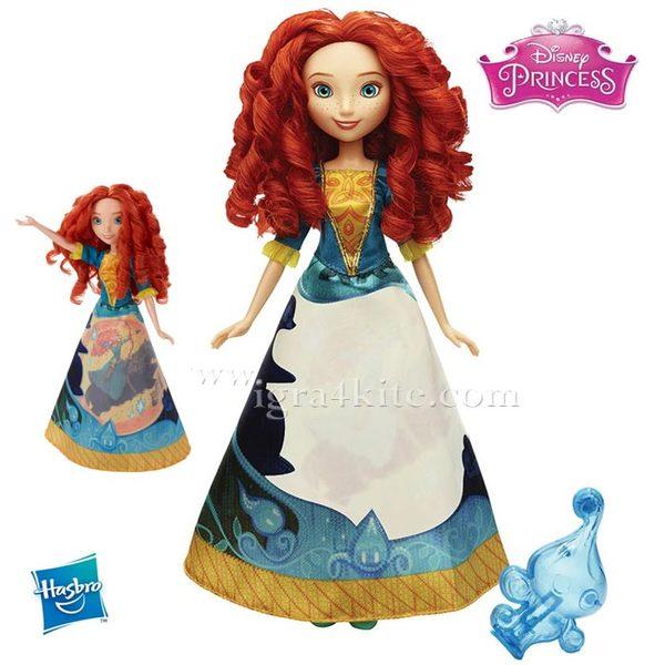 Disney Princess Magical Story - Кукла Мерида с магическа рокля  B5295